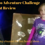 Daisy's Days creates a You Tube review video of the Dino Disco Adventure Challenge kids event in Manchester