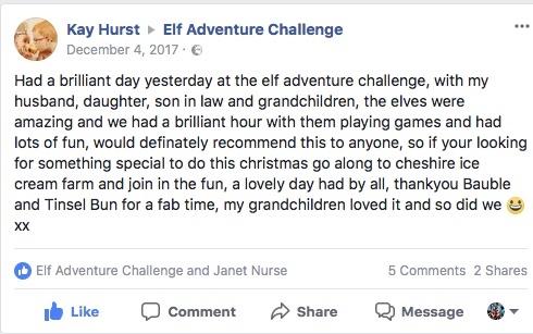 christmas family event review