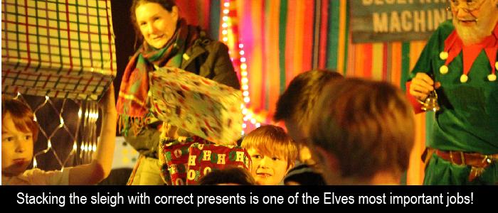 family christmas event