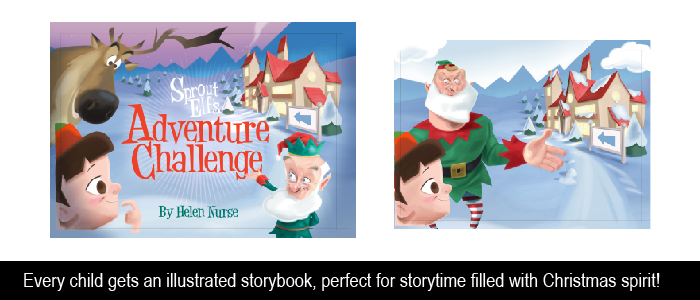 children's christmas storybook