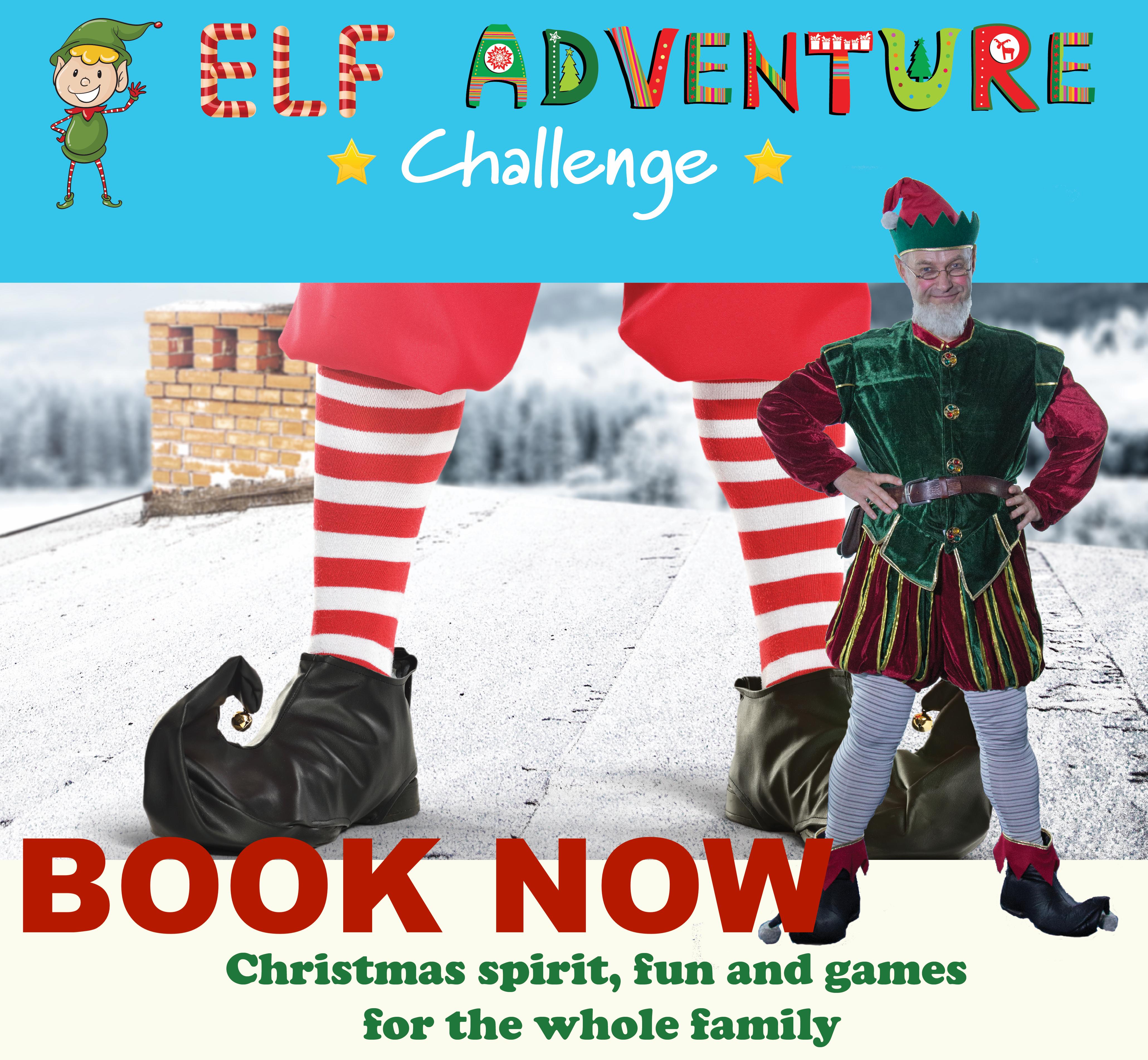 elf adventure challenge christmas event book now