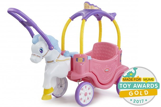 unicorn little tikes ride on