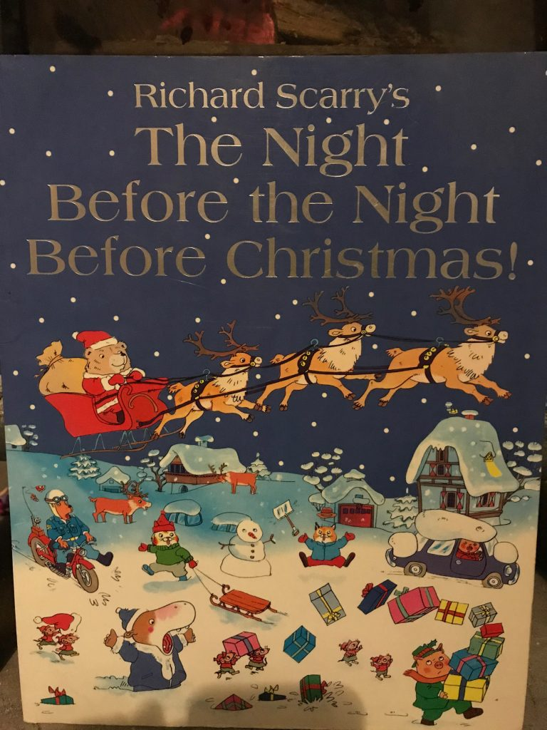 the night before christmas richard scarry