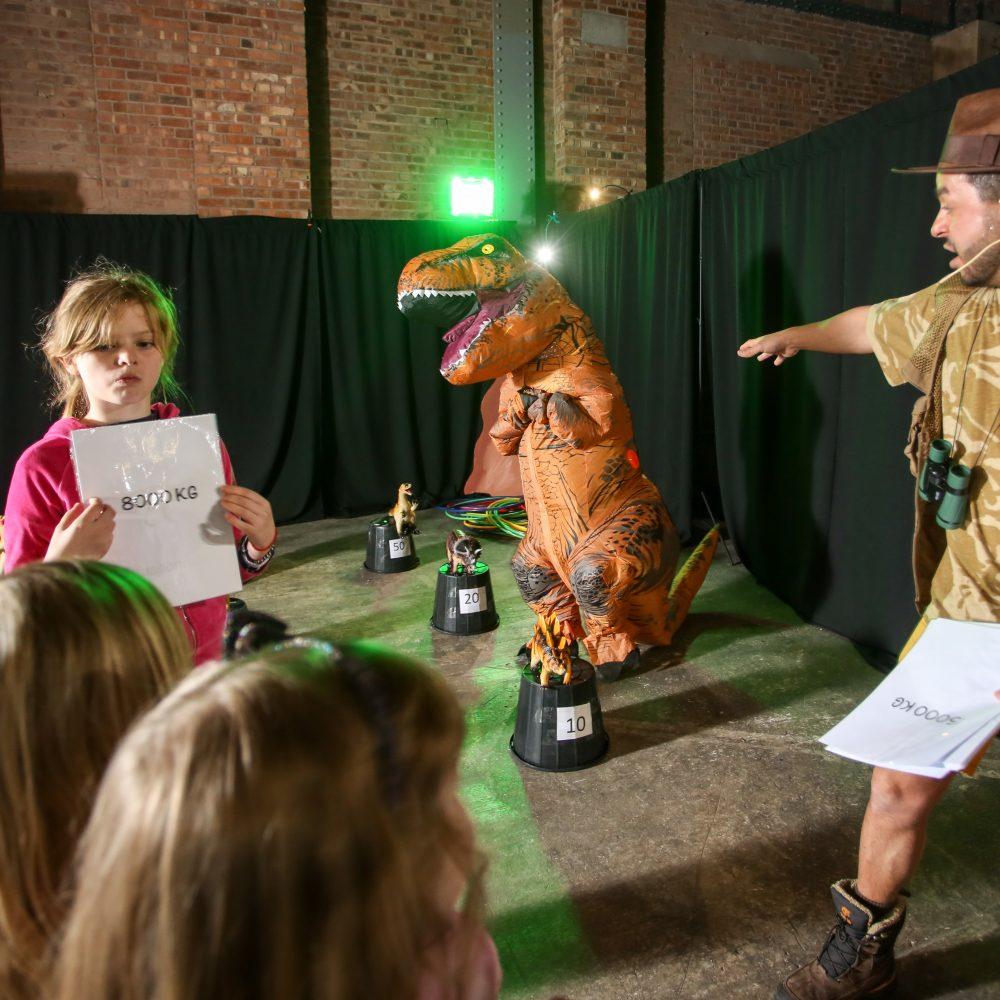 Dino Disco Adventure Challenge Event