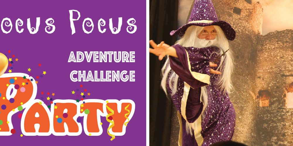 Wizard Theme Birthday Party; Hocus Pocus Adventure Challenge