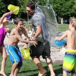 9 Fun Ideas for Water Activities to do with your Children in the Back Garden