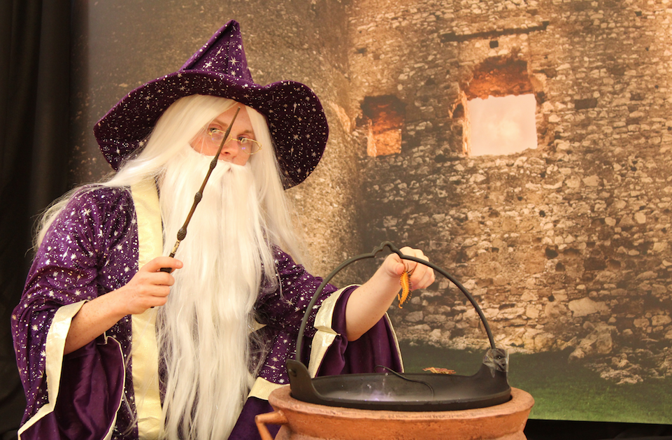 Hocus Pocus Adventure Challenge; school of Wizardry at Rivendell Garden Centre