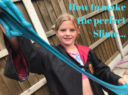 How to make the perfect slime – fun video demonstration
