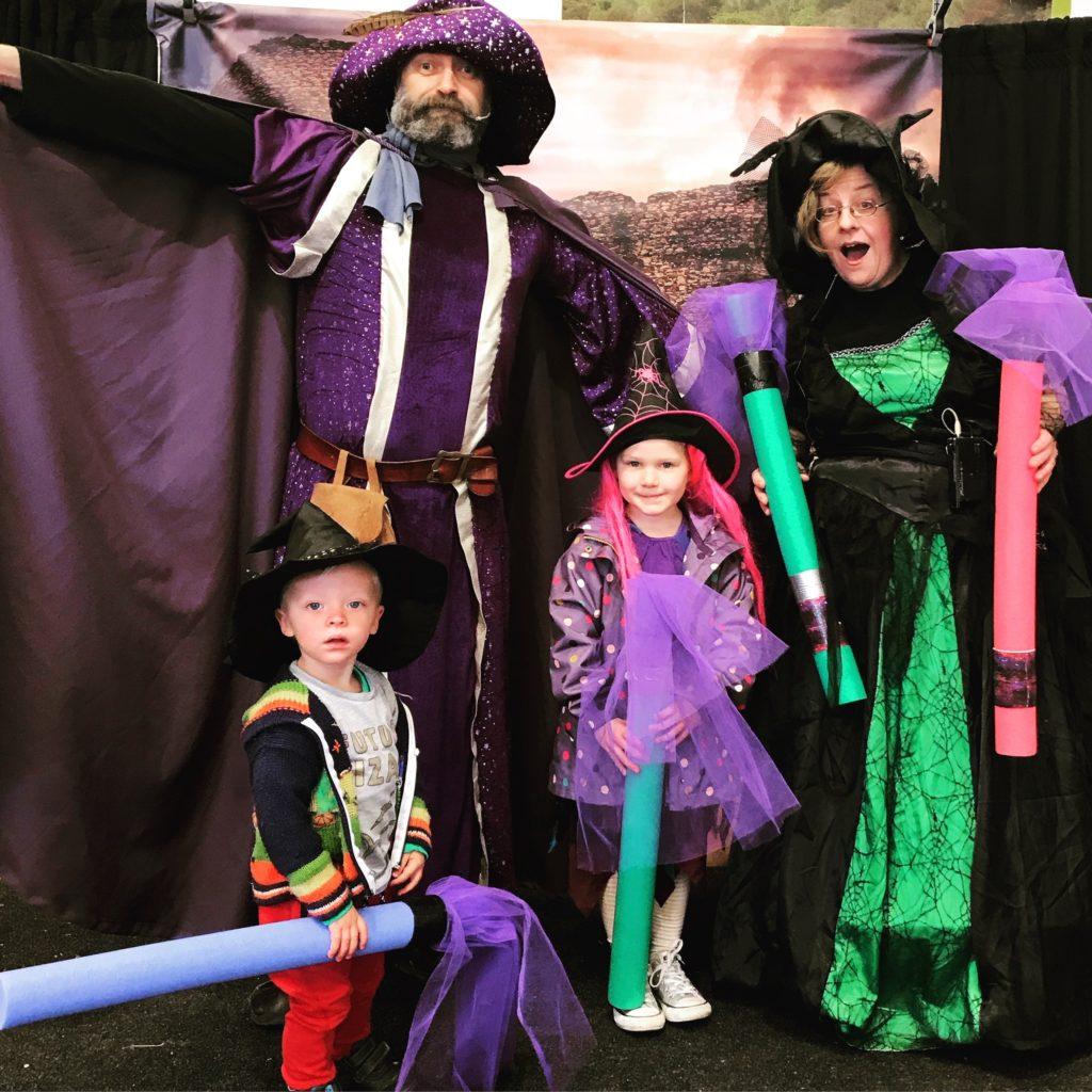 wizard theme party