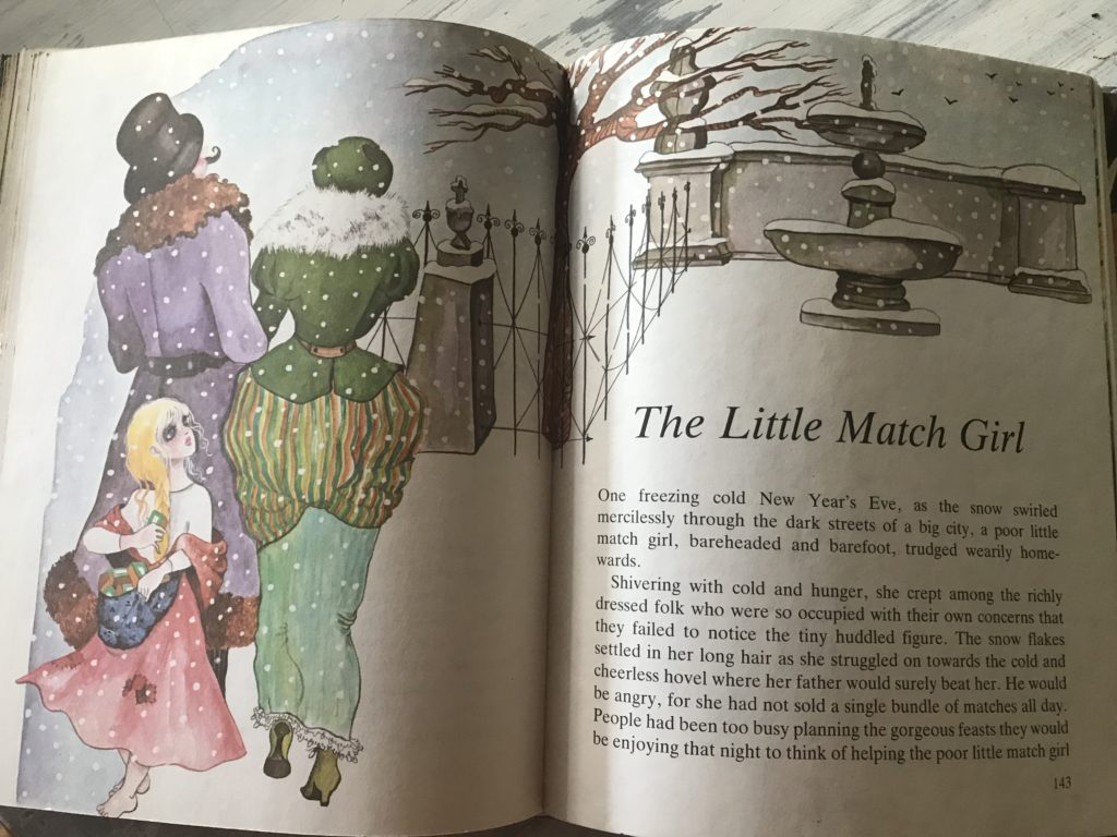 the little match stick girl children's story