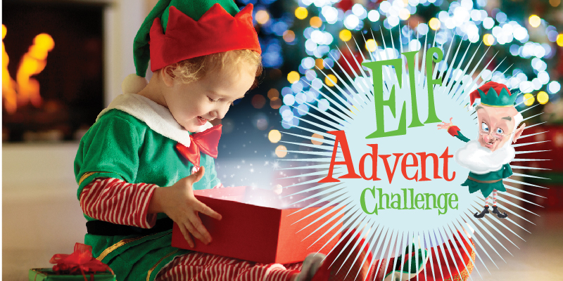 elf advent challenge christmas countdown