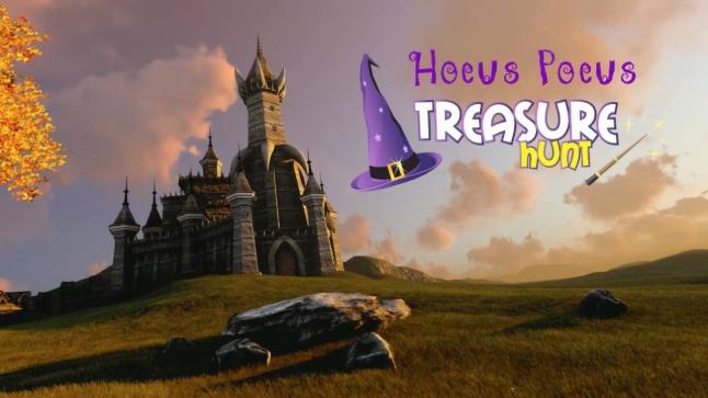 halloween kids party treasure hunt