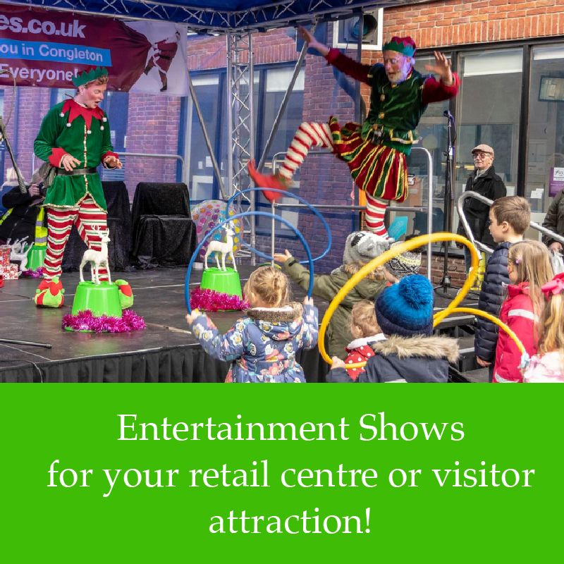 children's entertainment for events and venues