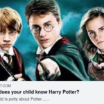 How well does you child know Harry Potter?