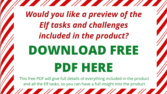 elf advent challenge pdf