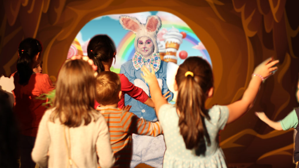 easter bunny hunt event for kids