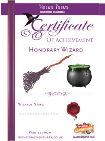 wizard school event