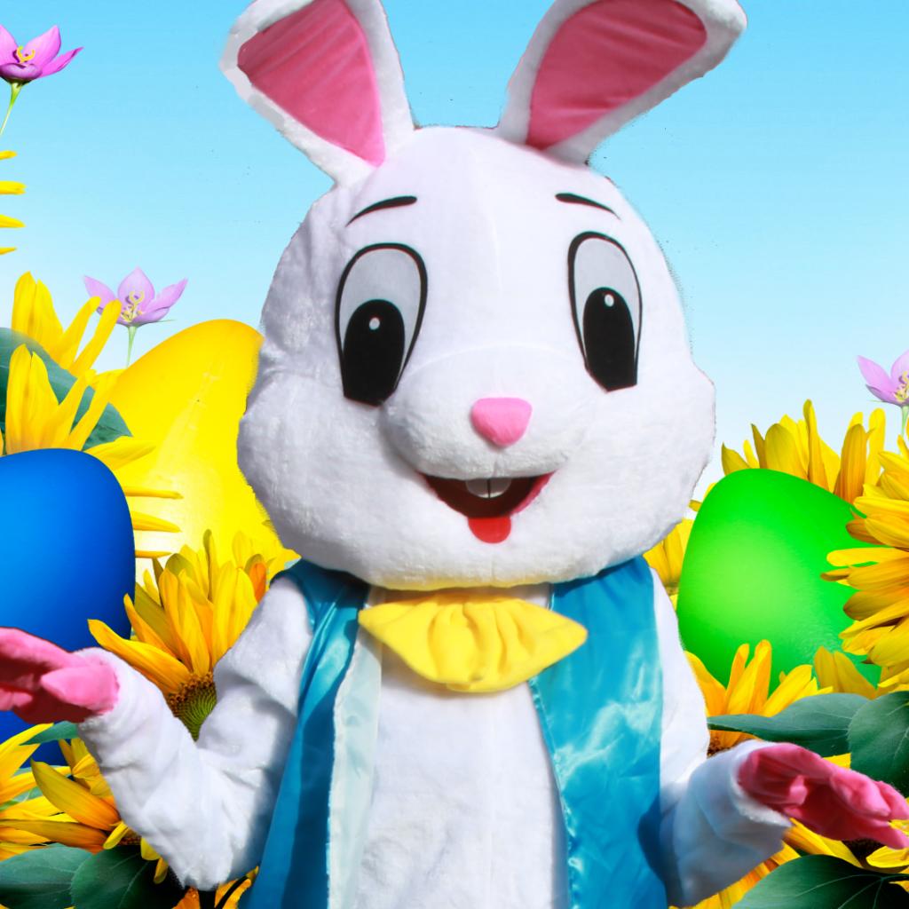 easter bunny egg hunt for kids