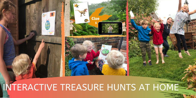 treasure hunts for kids at home
