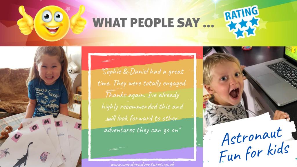 kids event feedback