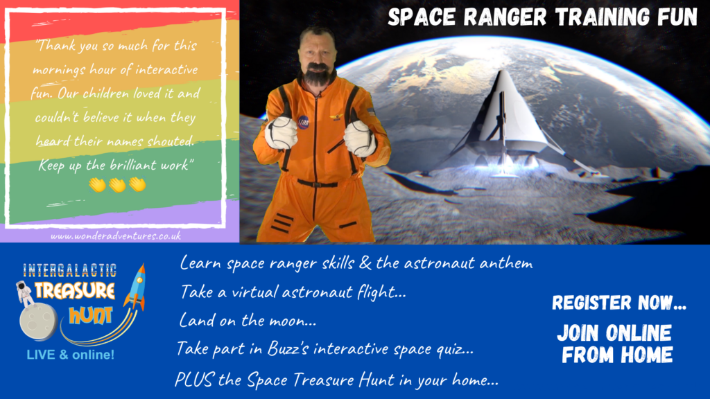 space event for kids online