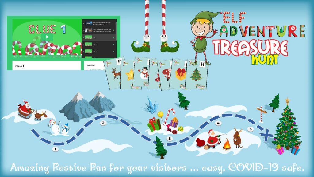 elf adventure treasure hunt for families