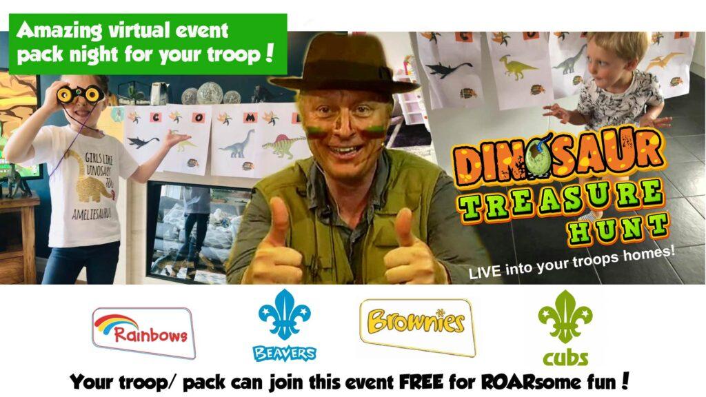 educational dinosaur event for kids