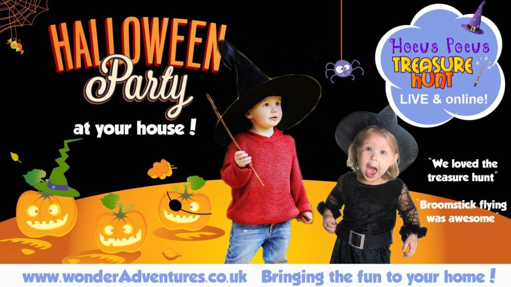 Halloween LIVE treasure hunt