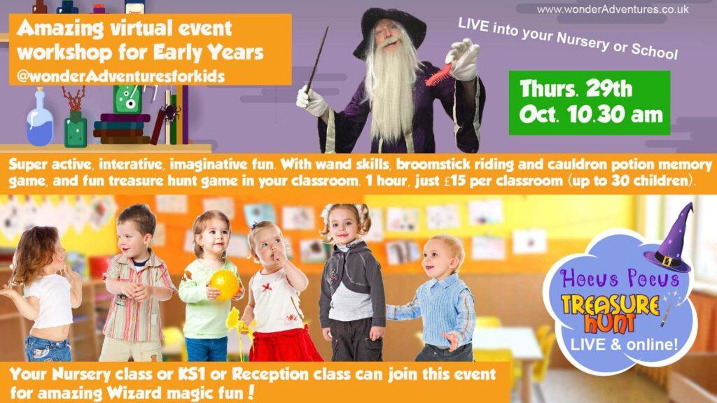 wizard workshop for schools