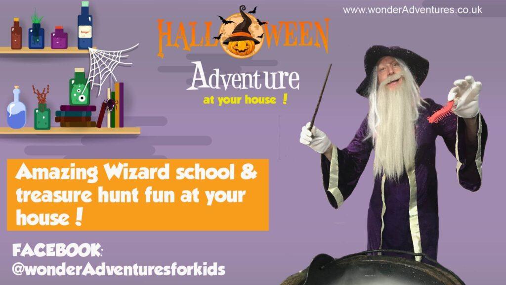 Wizard treasure hunt