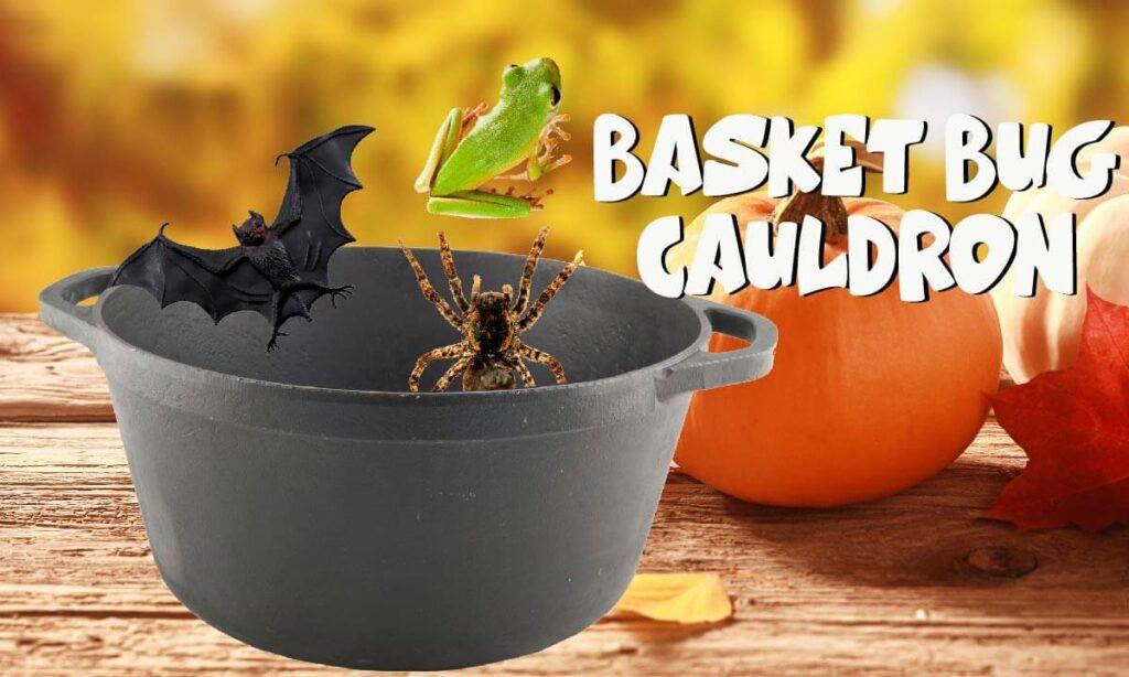 Halloween cauldron game