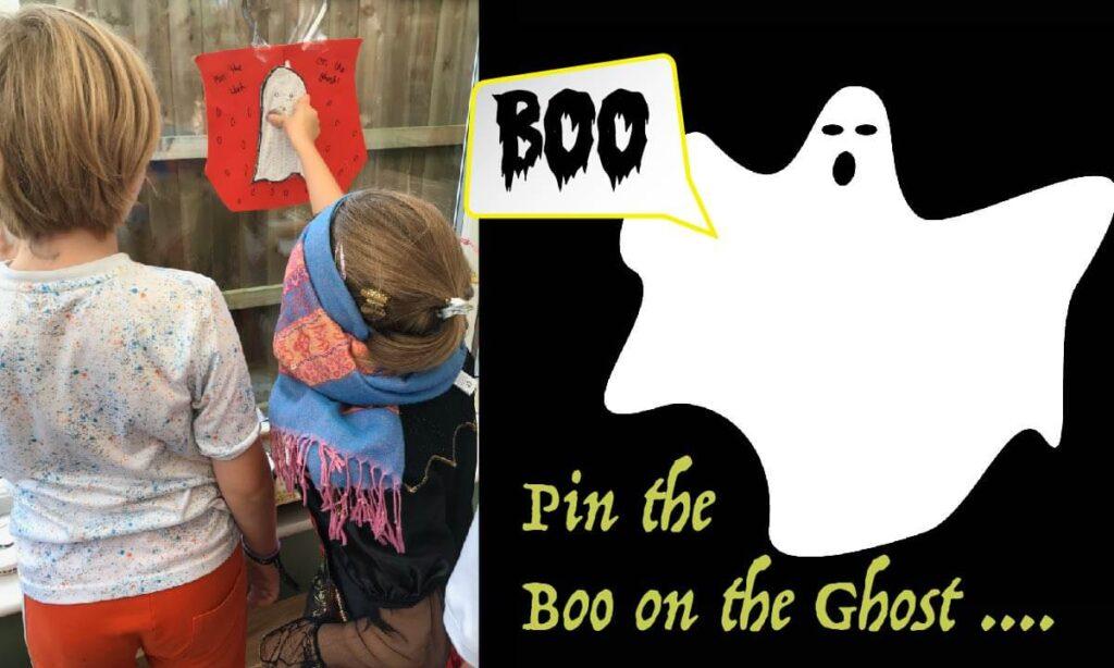 Halloween kids fun game