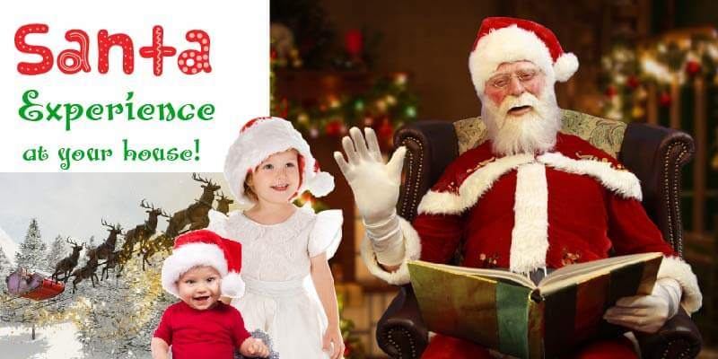 Santa experience online grotto